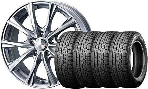 【スタッドレスタイヤ・ホイール 4本セット】 15インチ ブリヂストン(Bridgestone) BLIZZAK VRX 195/65R15 ...