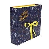 Fgolphd 2020 Caja de Adviento Diario Regalo del árbol de Navidad Caja del Tesoro Calendario de Adviento Año Nuevo Cuenta atrás Calendario Caja de la persiana (Color : B)