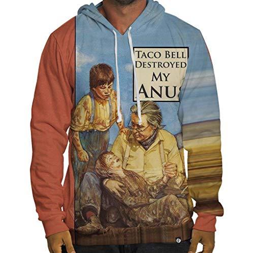 Beloved Shirts Taco Bell Destroyed My Anus Hoodie