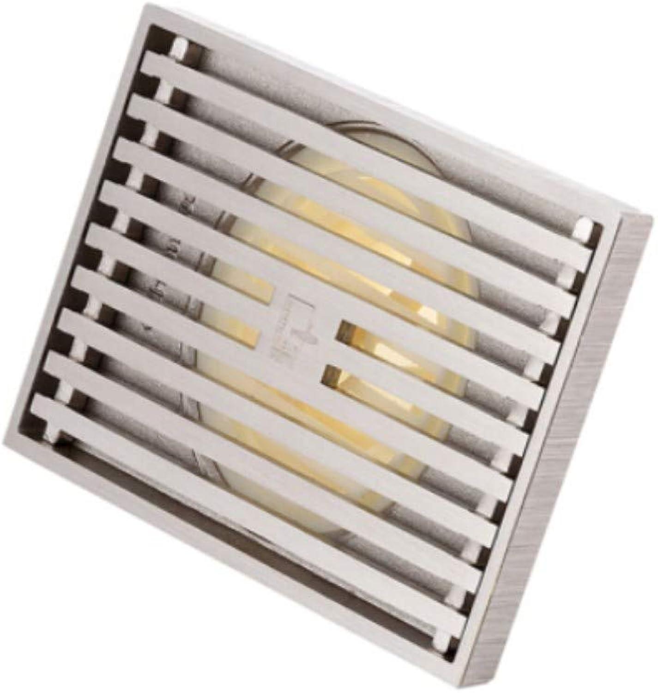 Floor Draindeodorant Copper Bath, Rapid Drainage and Long Floor Drain