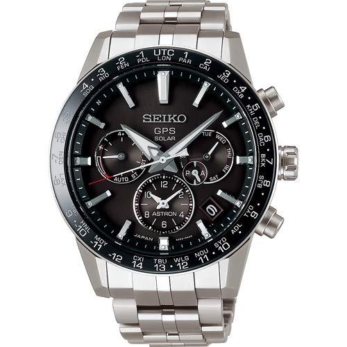 [ノベルティプレゼント][アストロン]ASTRON 腕時計 アストロン 第3世代 ソーラーGPS チタンモデル 黒文字盤...
