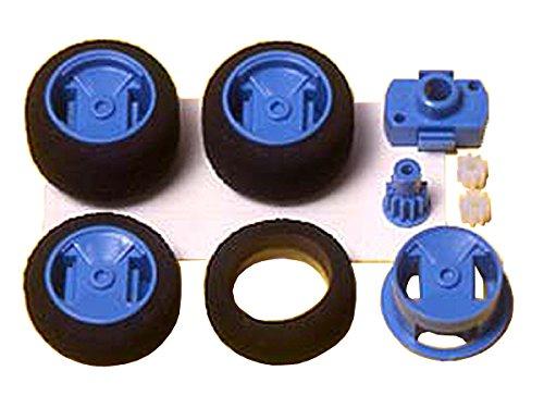 Narrow One-Way Wheel Set Mini 4WD Grade Up Parts Series