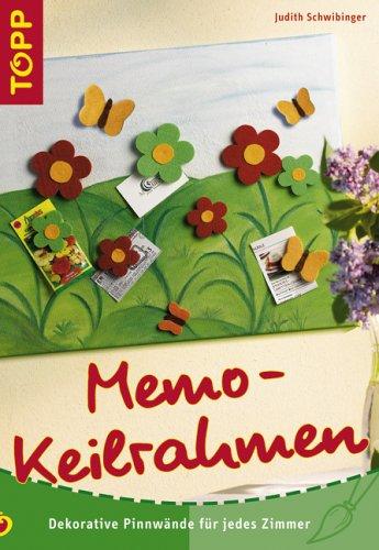 Memo-Keilrahmen: Dekorative Pinnwände für jedes Zimmer