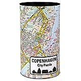 Extragoods City Puzzle Copenhagen Premium para adultos, puzzle de ciudades