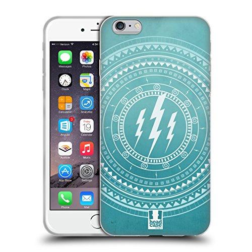 Head Case Designs Fulmine Mandala Dell'Olimpo Cover in Morbido Gel e Sfondo di Design Abbinato Compatibile con Apple iPhone 6 Plus/iPhone 6s Plus
