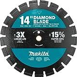 Makita B-69674 14' Diamond Blade, Segmented, Dual Purpose