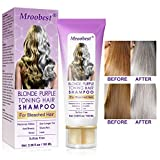 No Yellow Shampoo, Purple Shampoo, Anti Gelb Shampoo, Brassy, Silber & Color Treated Hair...