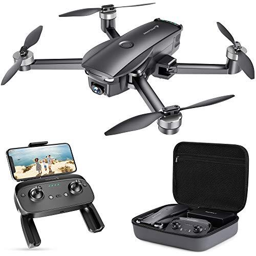 SNAPTAIN SP7100 4K GPS Drone con Telecamera UHD per Esperti, Quadricottero Pieghevole con Motore Brushless, Ritorno Automatico, Modalità Seguimi, Modalità Punti di Interesse, Autonomia 26 Minuti