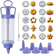 ملحقات أدوات خبز الكعك من Diagtree Cookie Press Baking Tools Cake Biscuits Make Gun Kitchen Tools CoCookie Press Kit مع 10...