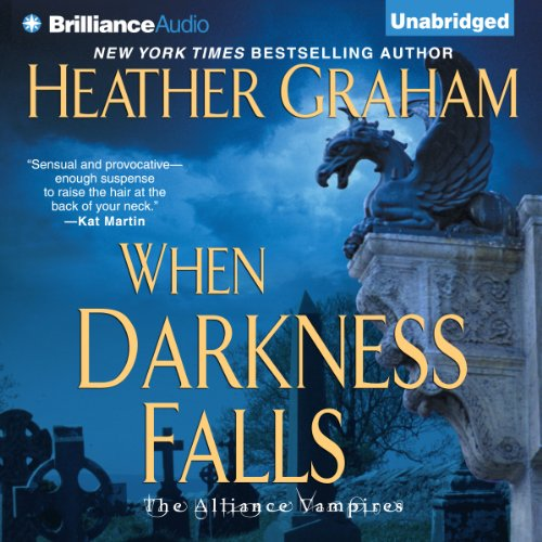When Darkness Falls audiobook cover art