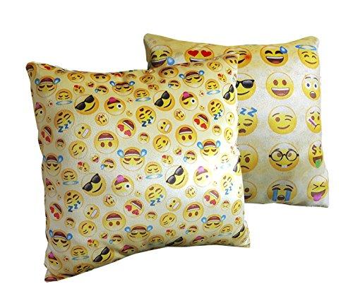 Emoticon - Cuscino per viso, giallo