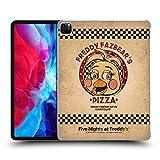 Head Case Designs Officiel Five Nights at Freddy's Jouet Chica Freddy Fazbear's Pizza Coque Dure pour l'arrière Compatible avec Apple iPad Pro 12.9 (2020)