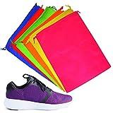6 Bolsas de Almacenamiento con Cordón - Bolsa para Calzado, Fundas Zapatos -...