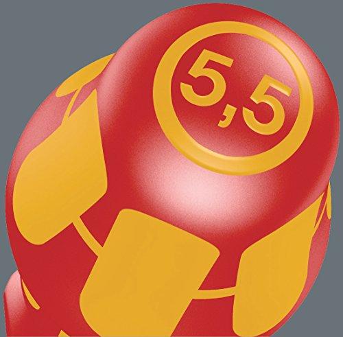 Wera Schraubendrehersatz 160 i/7 Rack Kraftform Plus + Spannungsprüfer + Rack, 7-teilig, 05006147001 - 19