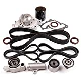 TUPARTS Timing Belt Kit with Water Pump Tensioner Bearing Replacement for 2002-2003 L-exus ES300 2004-2006 L-exus ES330