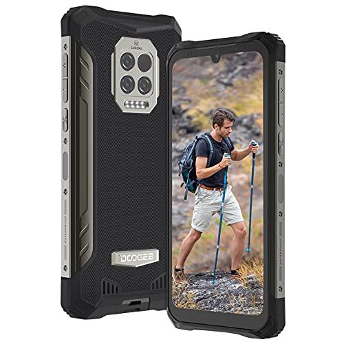 Doogee S86 Pro Outdoor Smartphone Ohne Vertrag, 8GB RAM + 128GB Outdoor Handy, 8500 mAh Akku, Infrarot Stirnthermometer, 6,1