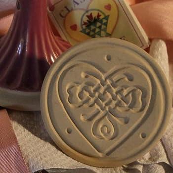 Say It With Cookies Series Cookie Stamp LOVE NEW Brown Bag