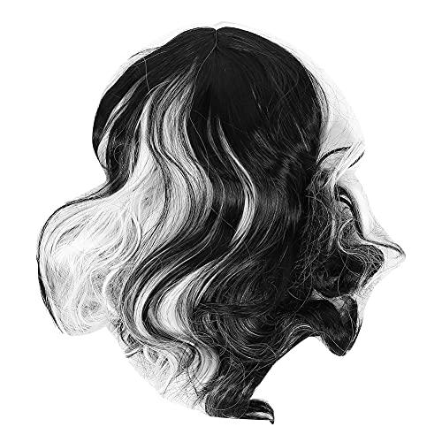 Peluca rizada, Temperatura Tamao Tamao Ajuste Hebilla Ao Cola de pelo recta redonda Hecho de alambre de alta temperatura para mujeres
