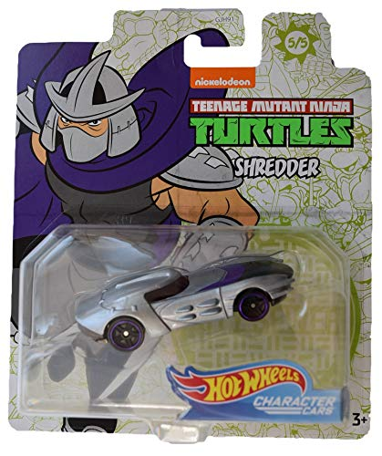 Hot Wheels Character Cars Teenage Mutant Ninja Turtles Shredder #5 of 5 Cars