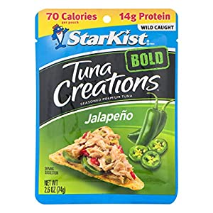 StarKist Tuna Creations BOLD Jalape?o - 2.6 oz Pouch (Pack of 24) (Packaging May Vary)
