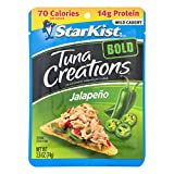 StarKist Tuna Creations BOLD Jalapeño - 2.6 oz Pouch (Packaging May Vary), Jalapeno, 62.4 Ounce(Pack of24)