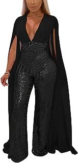 Best sequin jumpsuit with cape Reviews
