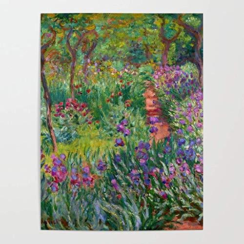mlpnko Van Gogh Garten Neuerscheinungen Malen nach Zahlen für Erwachsene Kinde- DIY ölgemälde ölfarben Geschenke40x50cm kein Rahmen