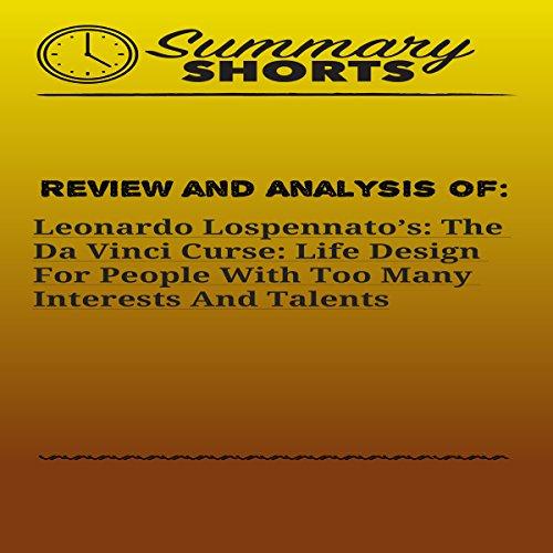 Review and Analysis of Leonardo Lospennato's: The Da Vinci Curse audiobook cover art