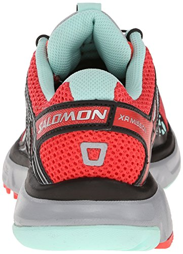 SALOMON XR Mission Sportive Celadon/Papaya-b/GR - Bleu - Blau (Scoblu/Verypurple/Pop Green), 40 2/3...