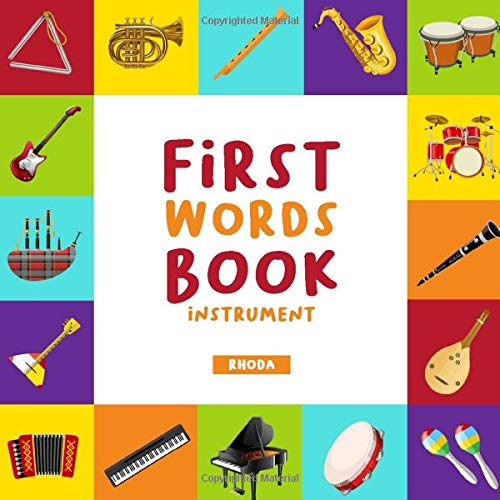 First Word Book: Instrument Picture Book For Baby