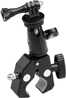 EXSHOW Bike Camera Mount,1/4-20 Thread Motorcycle Metal Holder for GoPro Hero7,6 5,4,3+,3,2,1,Canon,Garmin,Nikon,Sony,CASIO,Kodak and Other Cameras