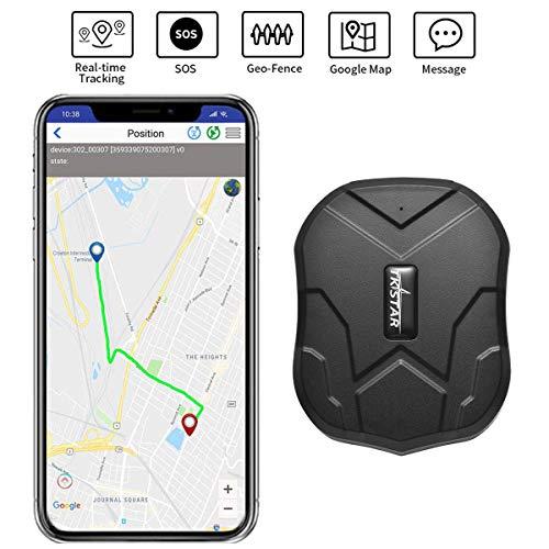TKSTAR Mini segue il dispositivo impermeabile con potente magnete lungo GPS standby Tracker Locator per bambini Senior animali Auto TK905 PS110