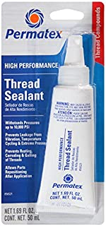 thread sealer for fuel fittings