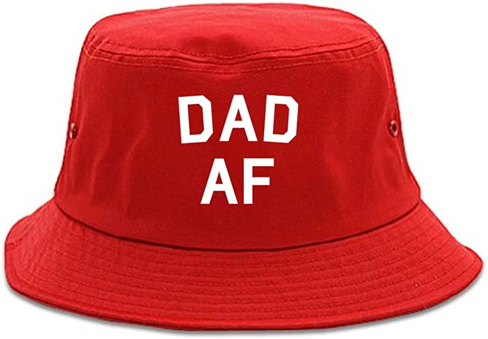 Kings Of NY Dad AF New Father Funny Mens Bucket Hat