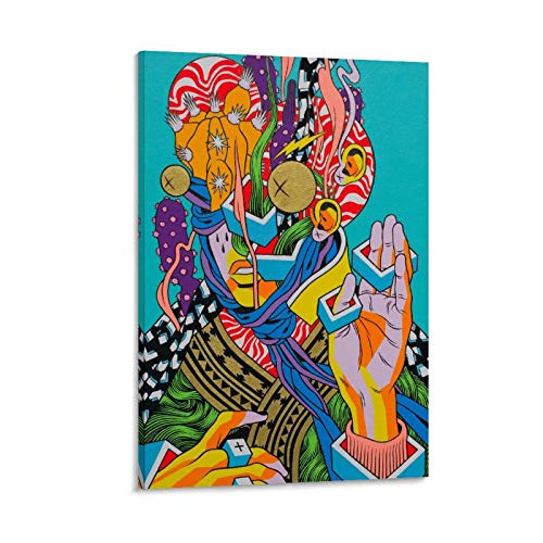 JHGB Bici Sem Freio Art - Póster, impresión artística de pared, diseño moderno, 40 x 60 cm