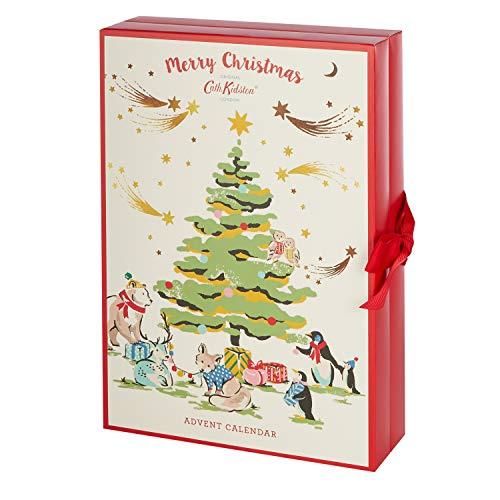 Cath Kidston 2020 Christmas Beauty Advent Calendar Gift With 24 x Bath & Body Items
