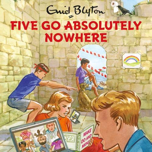 Five Go Absolutely Nowhere cover art