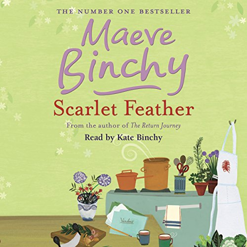 Scarlet Feather audiobook cover art