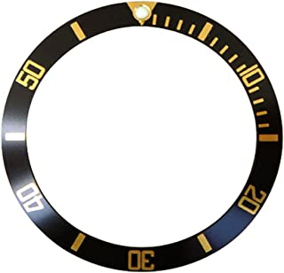 Replacement Watch Bezel Insert Black & Gold to Fit Submariner 16808-1