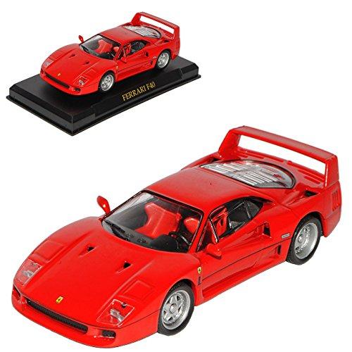 Altaya by Ixo Ferrari F40 F 40 Coupe Rot 1/43 Modellauto Modell Auto