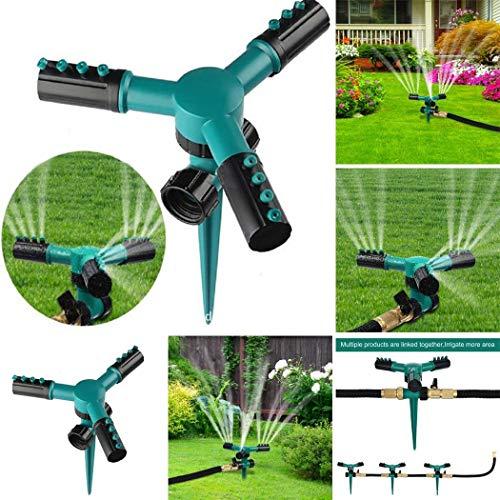 Xuprie Home Garden Automatic Rotating Ground Plug Sprinkler Sprinklers