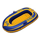 Wgwioo Hydro-Force Raft Set, Inflatable Boat Set, Foldable Rubber Expedition Dinghy, Kayak, Canoe,...