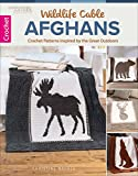 Leisure Arts Afghans Wildlife Cable,...