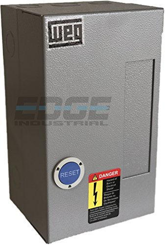 WEG MAGNETIC STARTER FOR ELECTRIC MOTOR AIR COMRPESSOR 5HP 3 PHASE 208-230V 18 AMP