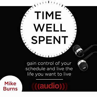 Time Well Spent audiobook cover art