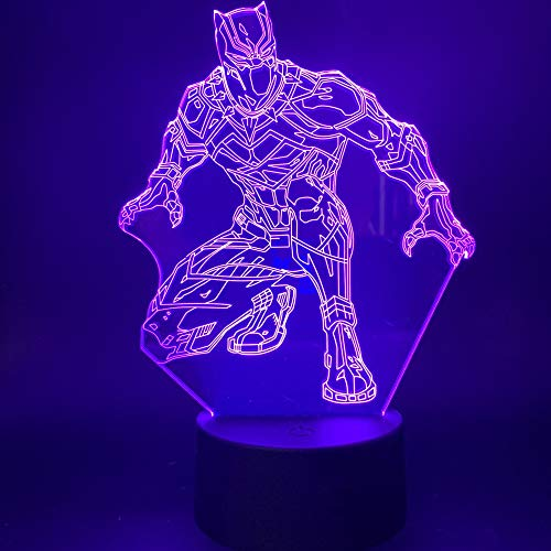 3D LED Night Light Figure Pour Le Cadeau De Veilleuse Decor Room Room Pour Lampe De Table Enfant