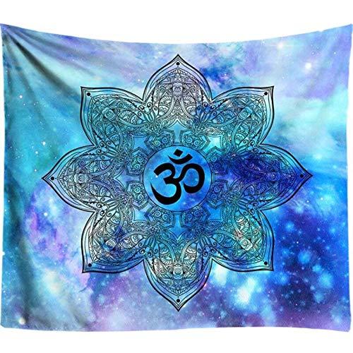 Gu3Je Moda Tapices de Colores Tapiz Mandala India Tapiz Hippie Bohemio Chakra del Tapiz Decorativo de la Pared Que Cubre Estera de Yoga Tela Bohemio para la decoración de la habitación