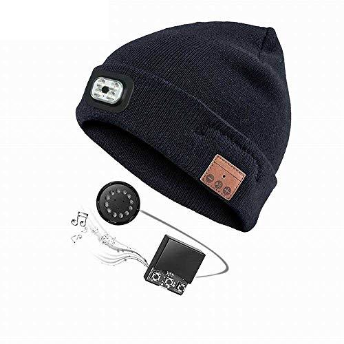 MapleMiss Lana Beanie Bluetooth del casquillo del sombrero de la...