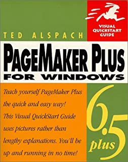 PageMaker 6.5 Plus for Windows, Second Edition (Visual QuickStart Guide)