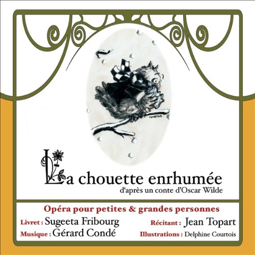 La chouette enrhumée audiobook cover art
